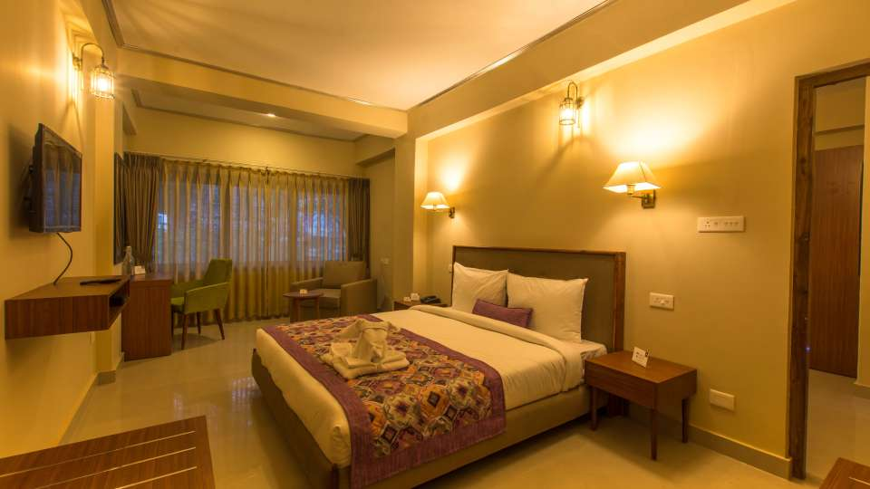 family room at Mount Himalayan Hotel and Spa 2