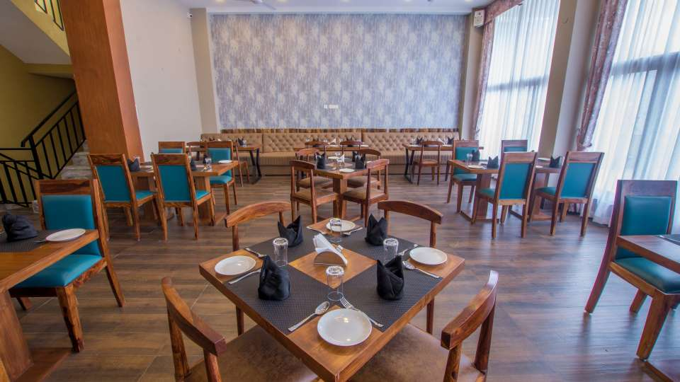 restaurant at Mount Himalayan Hotel and Spa 1