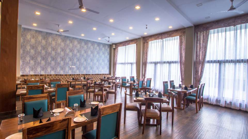 restaurant at Mount Himalayan Hotel and Spa 3