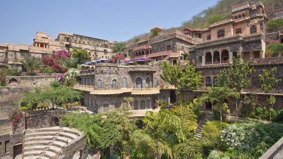 Neemrana Fort Palace Neemrana Facade Neemrana Fort Palace Neemrana Rajasthan 5