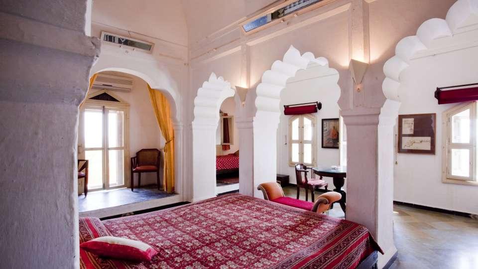 Neemrana Fort Palace Neemrana Mata Mahal Hotel Neemrana Fort Palace Neemrana Rajasthan