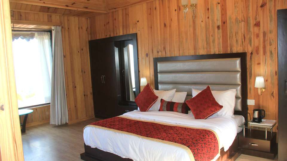 Ojaswi Himalayan Resort, Mukteshwar Nainital Himalayan Cottage Bedroom 2