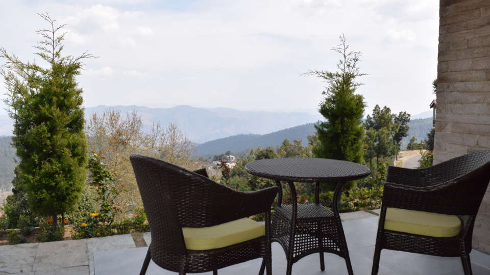 Ojaswi Himalayan Resort, Mukteshwar Nainital View From Club Retreat Room Ojaswi Himalayan Resort Mukteshwar 1