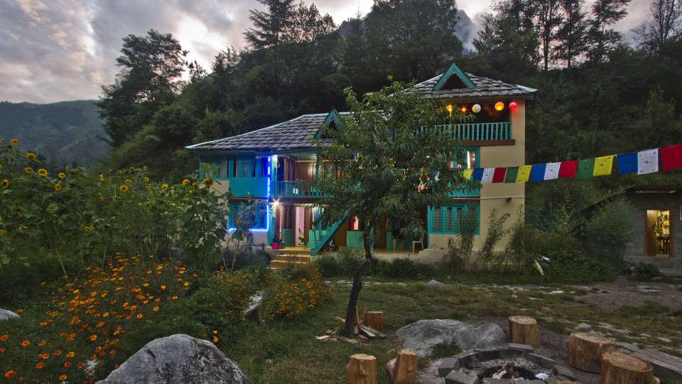 Parvati River Cottage Kasol Hotel Parvati Woods Camps in Kasol IMG 6115