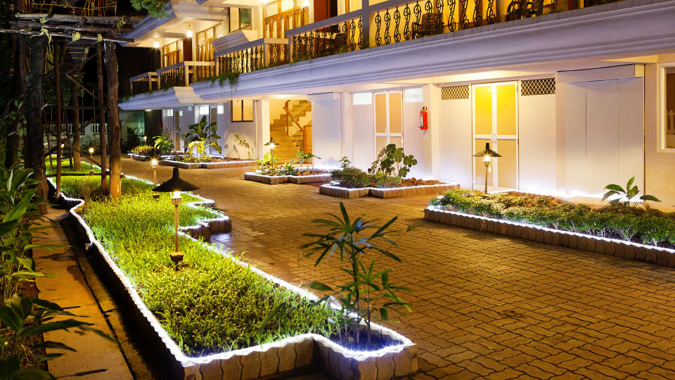 Quality Inn Ocean Palms Goa Exterior of Quality Inn Ocean Palms Goa