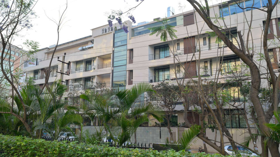 Facade. at RBD Sarovar Portico Bangalore, best hotels in bangalore 2