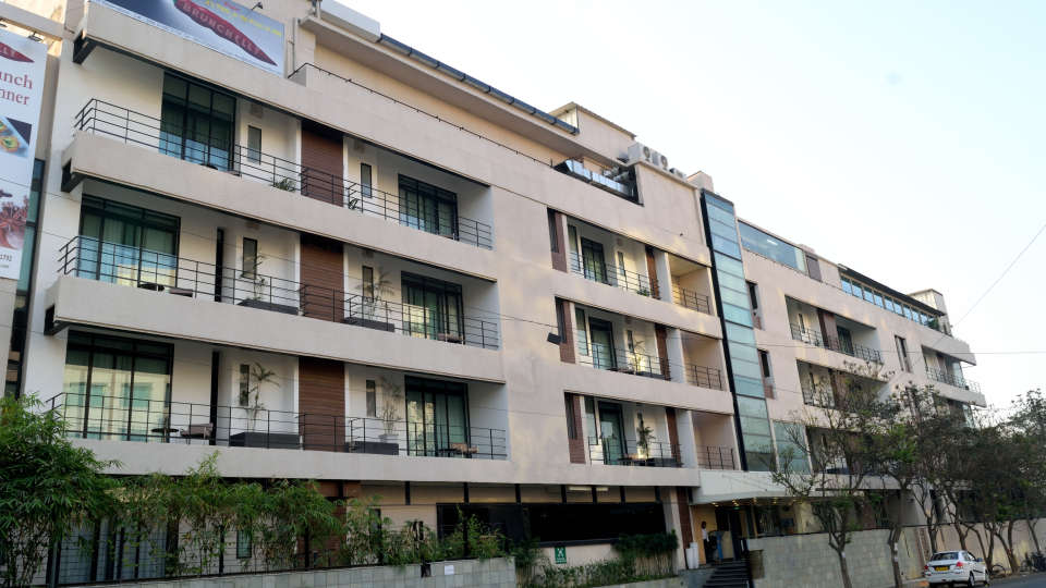 Facade at RBD Sarovar Portico Bangalore, best hotels in bangalore 1