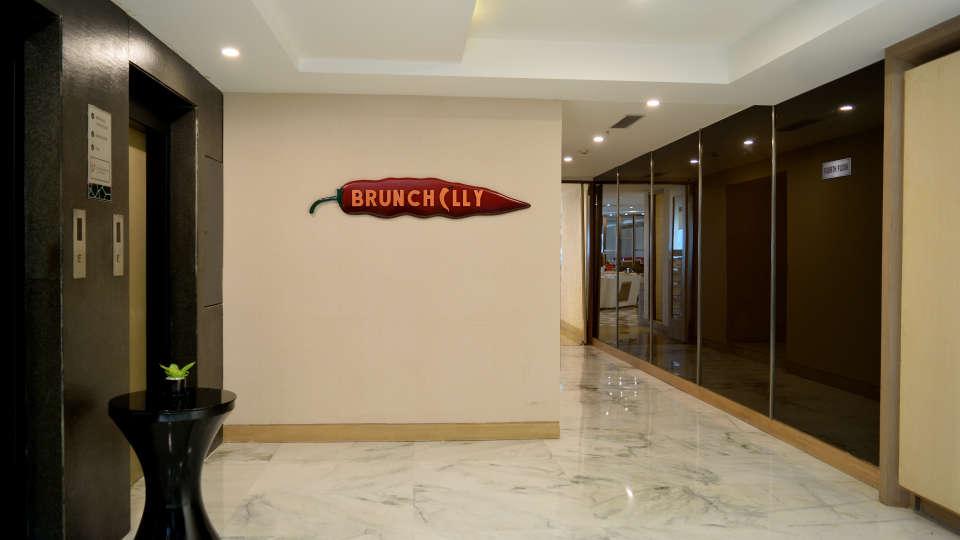Reception at RBD Sarovar Portico Bangalore, best bangalore hotels 3