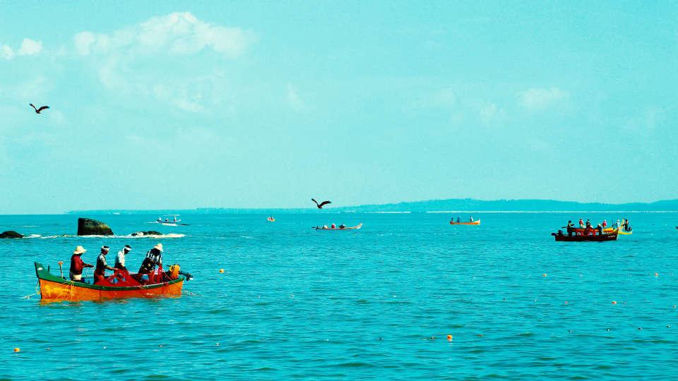 Renai Kappad Beach Resort 1 Sea View