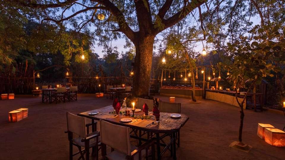 Gol Ghar restaurant in pachmarhi-Reni Pani Jungle Lodge in Satpura2