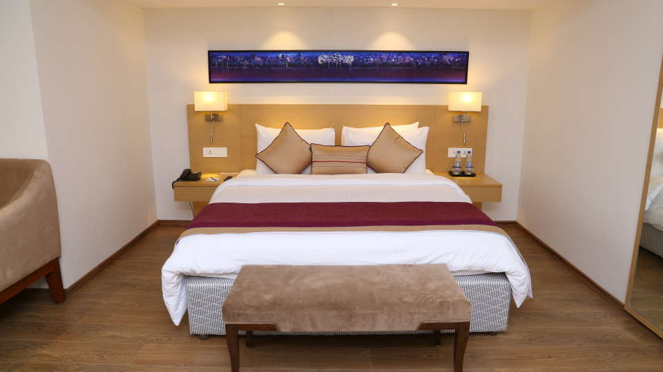 Deluxe Rooms Sarovar Portico Ahmedabad 5