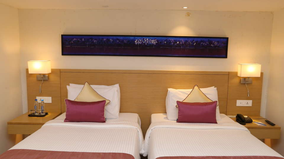 Deluxe Rooms Sarovar Portico Ahmedabad 9