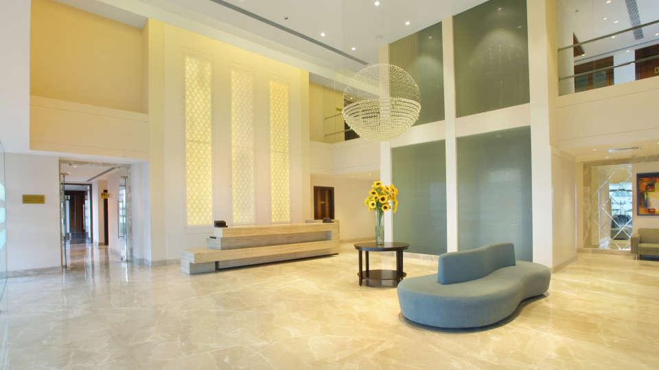 Reception Lobby at Hotel Seyfert Sarovar Portico Dehradun 1