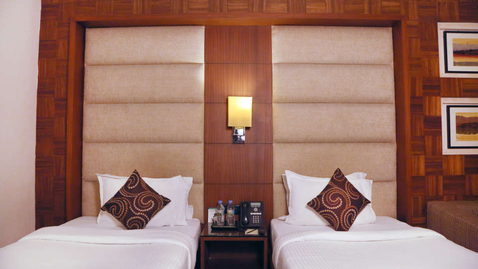 Deluxe Rooms at The Bristol Hotel Gurgaon, Rooms in Gurgaon