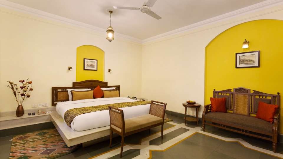 The Haveli Hari Ganga Hotel, Haridwar Haridwar FINAL room no window