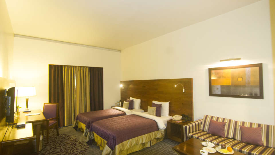 Rooms at The Orchid Hotel Pune - 5 Star Hotel in Balewadi Pune