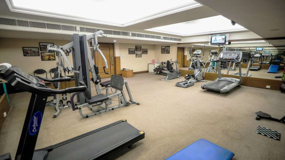 Gym The Piccadily Luxury Hotel in Lucknow