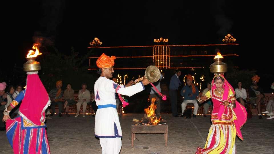 Gala Dining at Umaid Lake Palace Hotel Kalakho Dausa Rajasthan