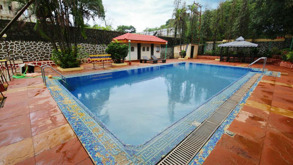 Swimming Pool Zara s Resort Khandala Hotels near Lonavla Railway Station 4