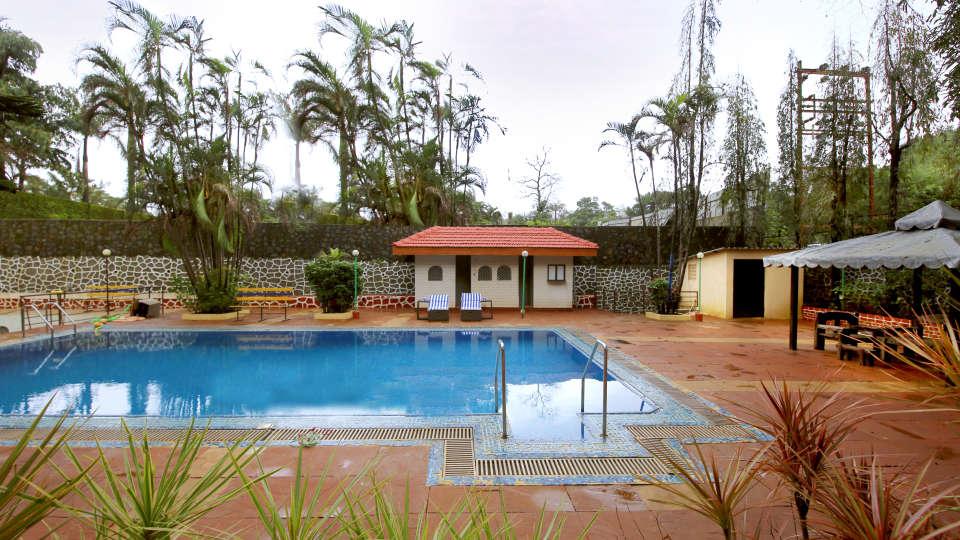 Swimming Pool Zara s Resort Khandala Hotels near Lonavla Railway Station 5