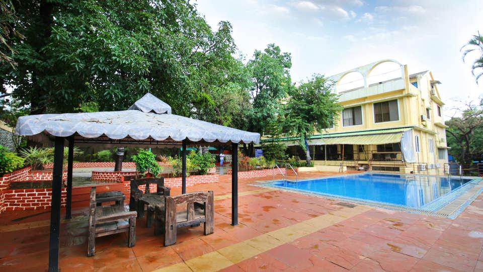 Swimming Pool Zara s Resort Khandala Hotels near Lonavla Railway Station 7