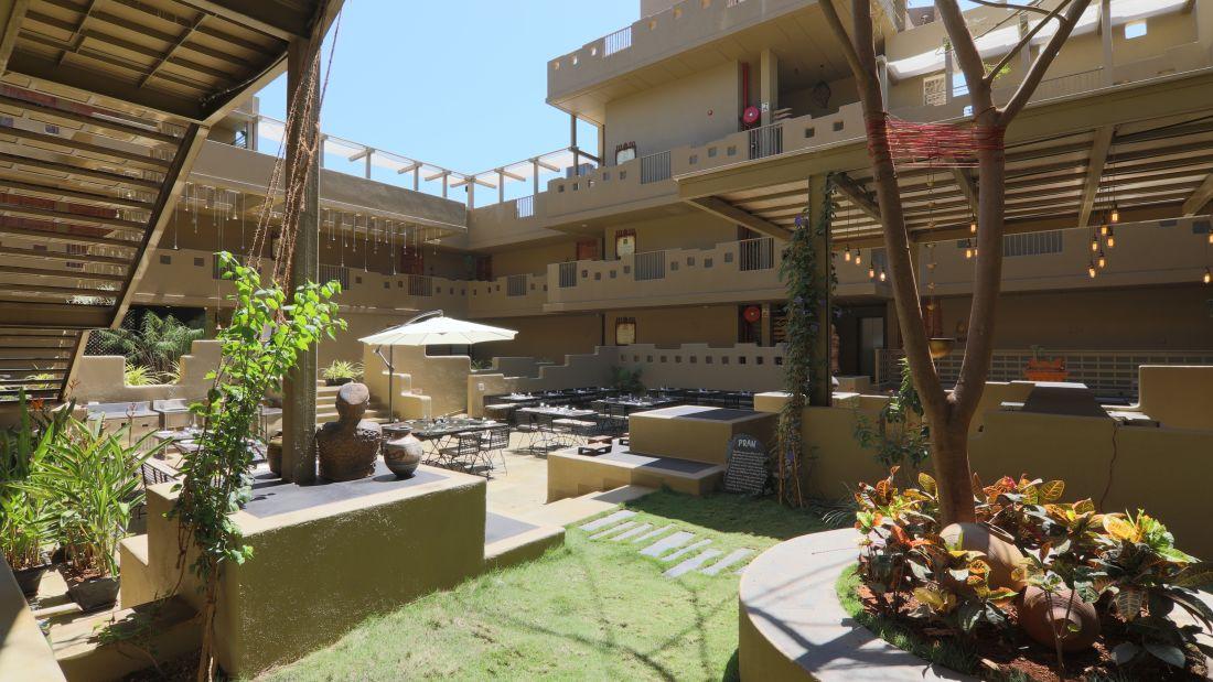 Courtyard View From Pran