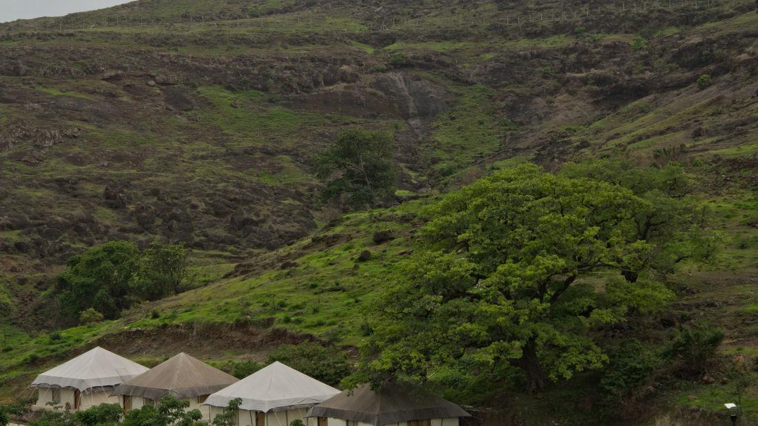 Adventurous Trekking at Fort Jadhavgadh Heritag Resort Hotel Pune- resort near mumbai