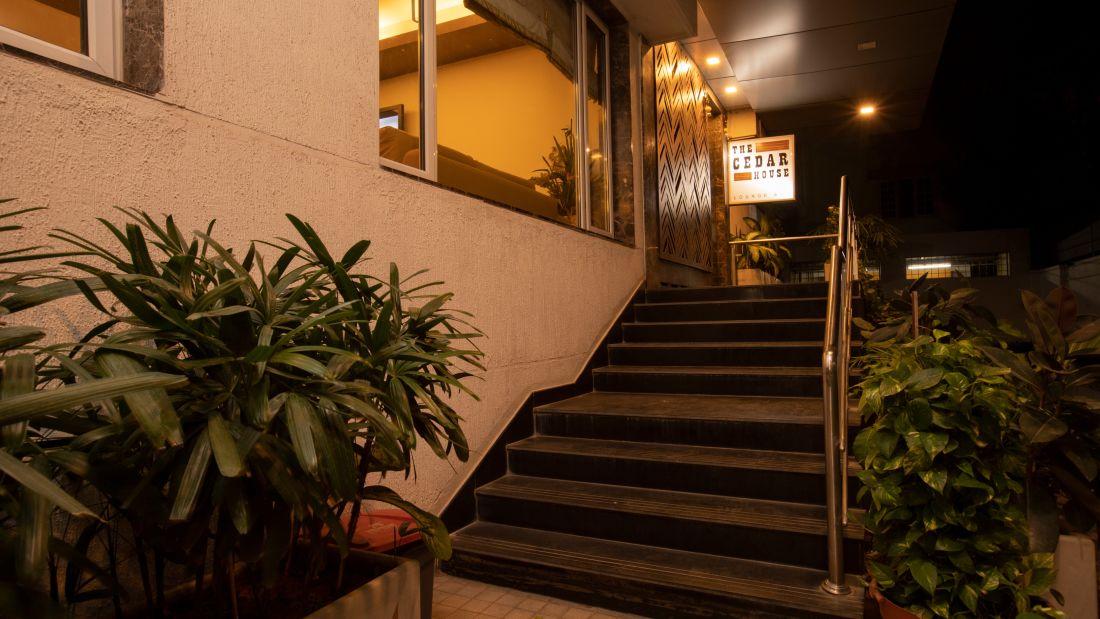 The Cedar House Lounge Bar Entrance 1