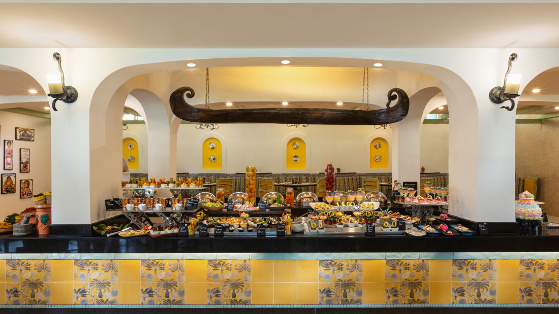 Chutney, Heritage Village Resort and Spa, Restaurant near Arossim Beach 15