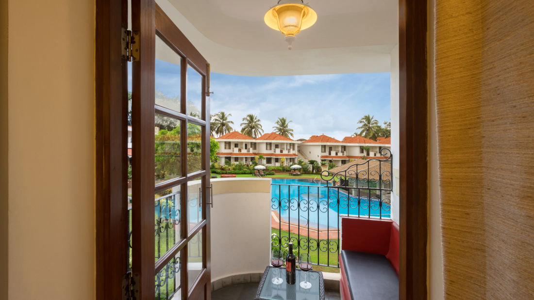 Deluxe Rooms, Heritage Village Resort and Spa, Hotel Rooms in South Goa 10