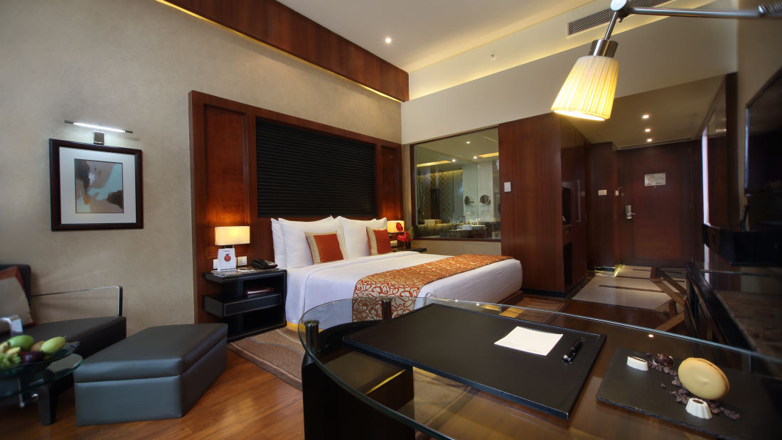 Executive Club Room Hotel Gokulam Grand Bangalore