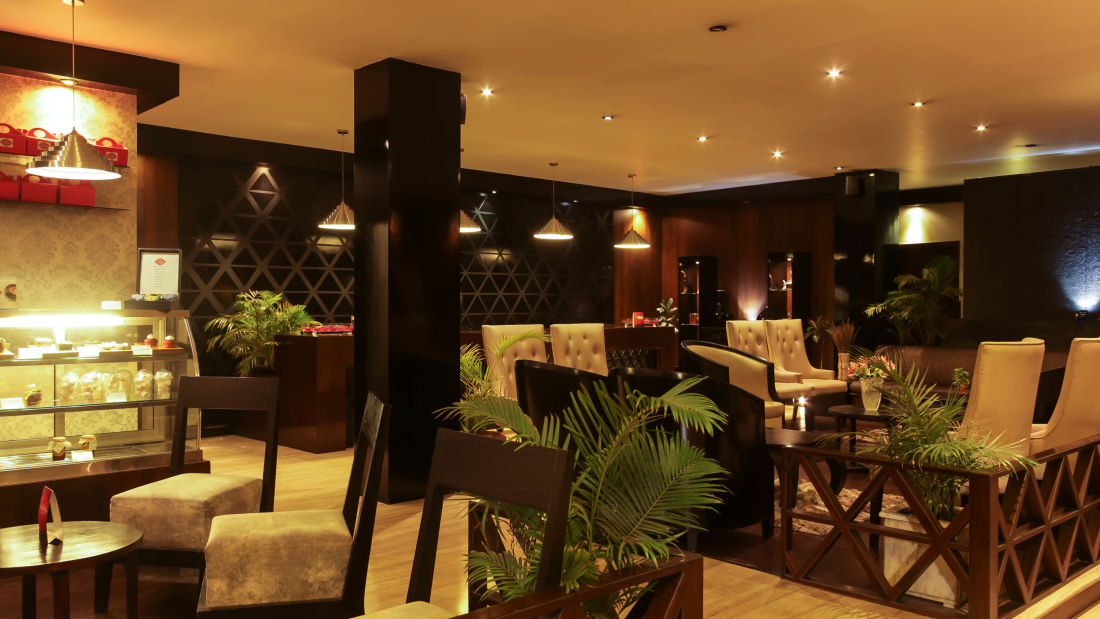 Lobby at our hotel in Shillong, Hotel Polo Towers, Shillong- 17