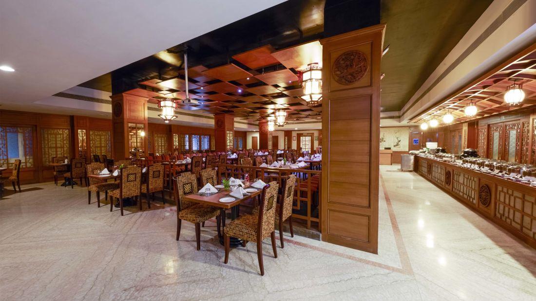 JP Hotel in Chennai Seabreeze restaurant