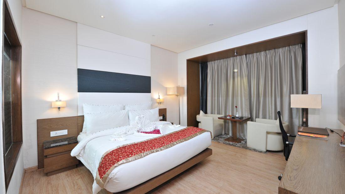 Standard Rooms at Narayani Heights, hotel room in ahmedabad