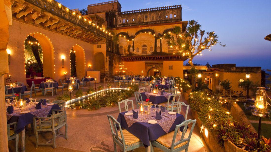 Holi Kund, Neemrana Fort Palace, Rajasthan restaurants 1