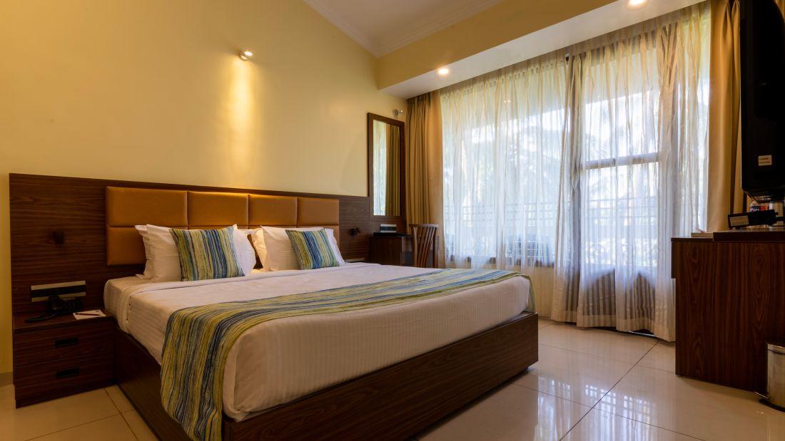 Best Rooms at Calangute Beach, North Goa, Best Rooms in Calangute North Goa, Suites in North Goa, CalanguteQuality Inn OCean Palms-30