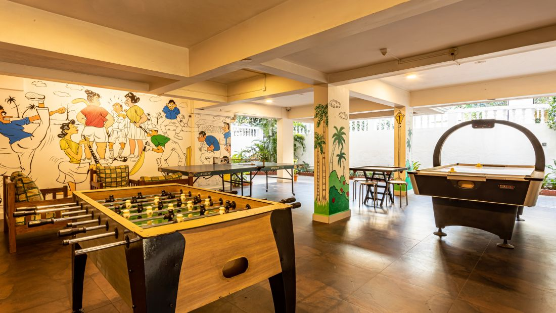 Best resorts in goa, Resort in Calangute, North Goa, suites in Goa, Calangute Beach, hotel rooms in North GoaRecreation Area-3