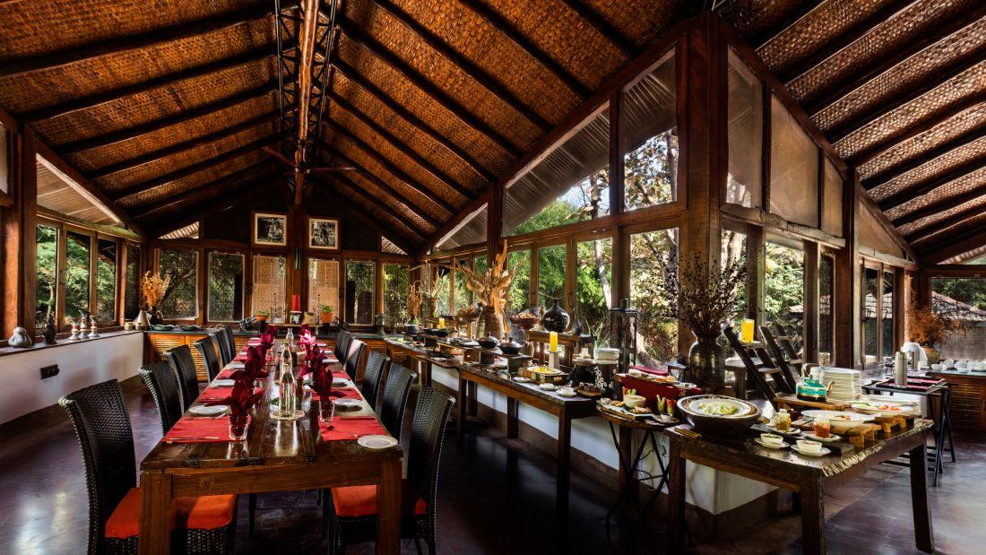 Gol Ghar restaurant in pachmarhi-Reni Pani Jungle Lodge in Satpura4