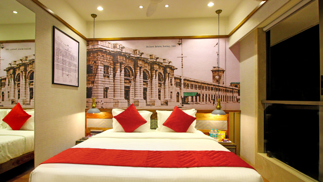Bedroom 1, Serviced Apartments in Khar, Rooms in Khar, Hotels in Khar