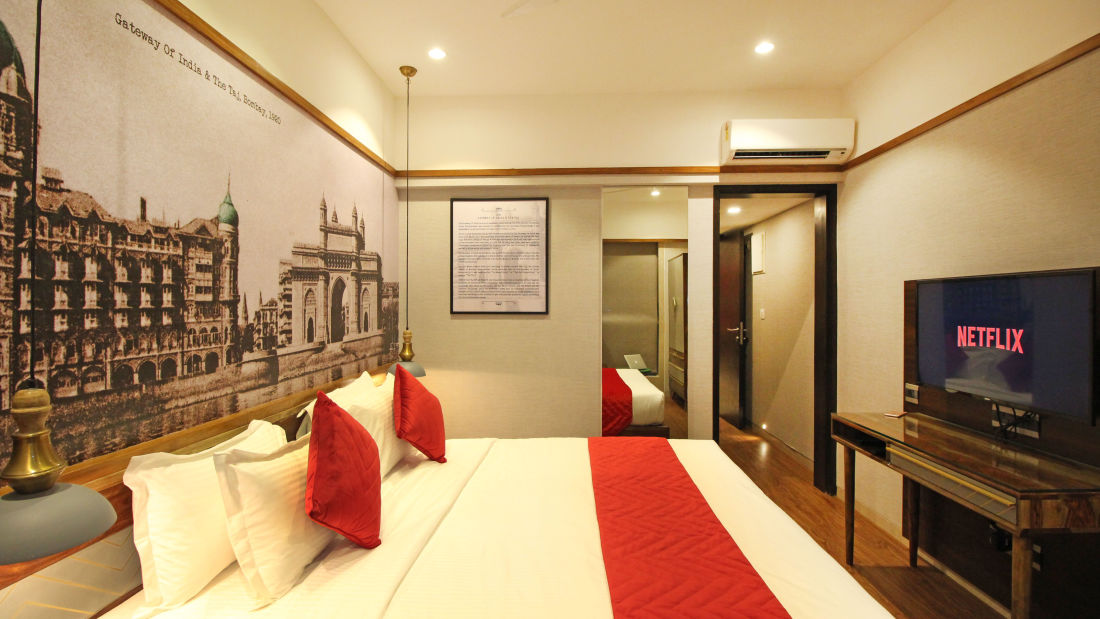 Bedroom 4, Serviced Apartments in Khar, Rooms in Khar, Hotels in Khar