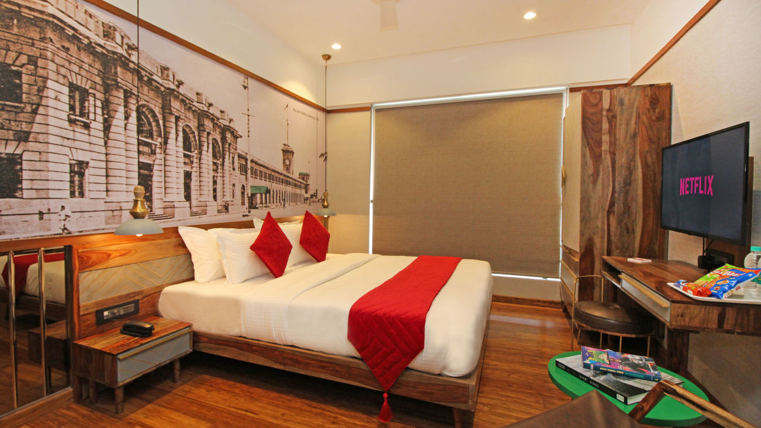 Bedroom 5, Serviced Apartments in Khar, Rooms in Khar, Hotels in Khar