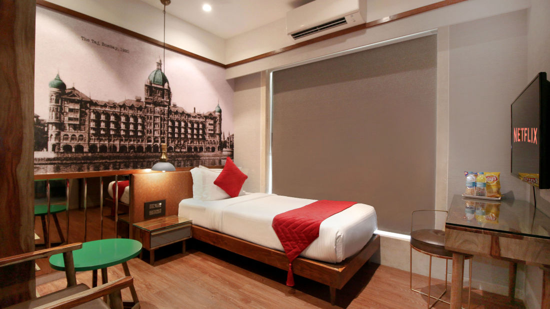 Single Bedroom 7, Serviced Apartments in Khar, Rooms in Khar, Hotels in Khar