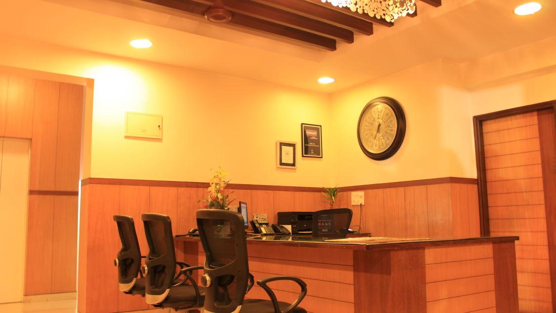 Reception Trinity Suites Ulsoor Bangalore 1