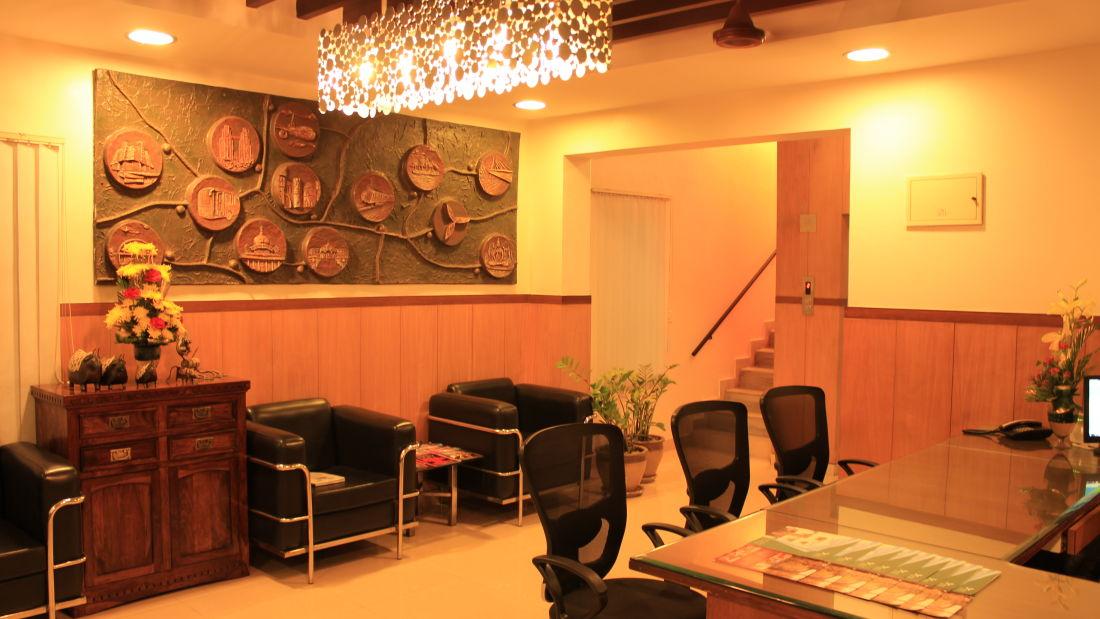 Reception Trinity Suites Ulsoor Bangalore 2
