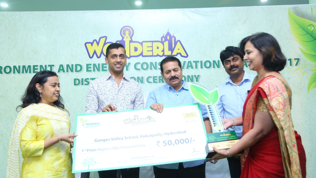 Wonderla Award function image Hyderabad