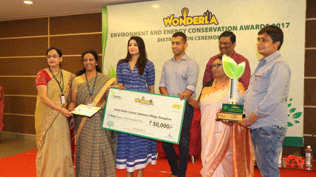Wonderla Award function image