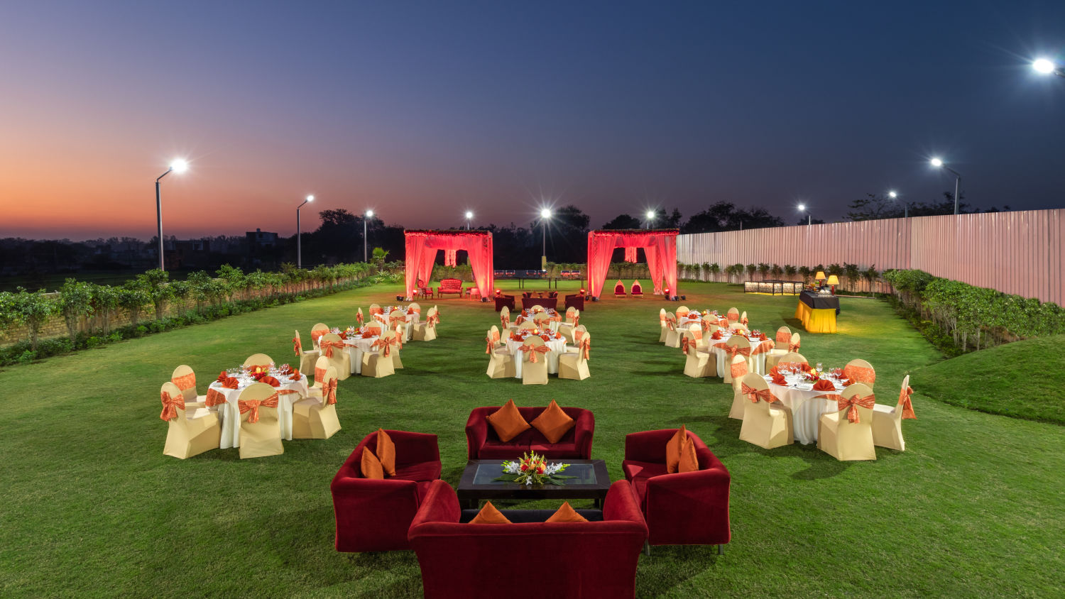 Nidhivan Banquet Outdoor Twlight