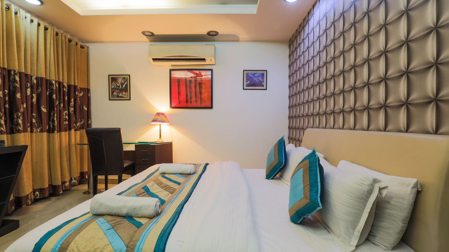 Rooms at The Hermitage Hotel (By Cosy Hotels), New Delhi