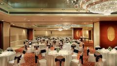 Banquet hall at Mahagun Sarovar Portico Vaishali, best hotels in vaishali