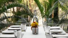Table Setup Restaurant